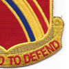 246th Field Artillery Regiment Patch DUI | Lower Right Quadrant