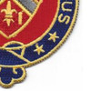 245th Field Artillery Regiment Patch | Lower Right Quadrant