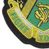 240th Cavalry Regiment Patch | Lower Left Quadrant