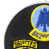 23rd Tactical Fighter Wing Gaggle Patch | Upper Left Quadrant