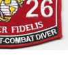 8026 Parachutist-Combat Diver MOS Patch | Lower Right Quadrant
