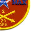 20th Regiment 2nd Battalion Ariel Rocket Artillery Patch | Lower Right Quadrant