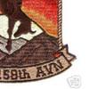 7th Squadron 158th Avaition Regiment A Company Patch | Lower Right Quadrant