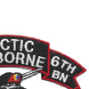 207th Airborne Infantry Group C Company 6th Battalion Patch | Upper Right Quadrant