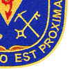 206th Chemical Battalion Patch | Lower Right Quadrant