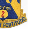 205th Armor Regiment Patch | Lower Right Quadrant