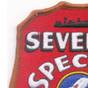 7th SPECIAL SEABEE Battalion WWII Patch   Upper Left Quadrant