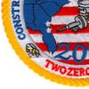 202 CBMU Construction Battalion Maintenance Unit Patch   Lower Left Quadrant