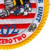 202 CBMU Construction Battalion Maintenance Unit Patch   Lower Right Quadrant