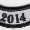 2014 Rocker Bottom Tab Patch | Center Detail