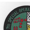 7th Special Operations Squadron MC-130H Combat Talon II Patch   Upper Left Quadrant