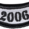 2006 Rocker Bottom Tab Patch | Center Detail