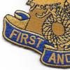 1st Transportation Battalion Patch | Lower Left Quadrant