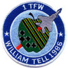 1st Tactical Fighter Wing Patch (William Tell)