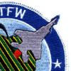 1st Tactical Fighter Wing Patch (William Tell) | Upper Right Quadrant