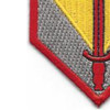 1st Sustainment Brigade Shoulder Sleeve Patch | Lower Left Quadrant