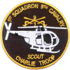 1st Squadron Charlie Scout Company 9th Cavalry Regiment Patch