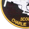 1st Squadron Charlie Scout Company 9th Cavalry Regiment Patch | Lower Left Quadrant