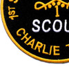 1st Squadron Charlie Company 9th Cavalry Regiment Patch Scout Charlie Troop | Lower Left Quadrant