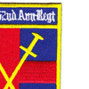 1st Squadron 52nd Aviation Regiment HQ Company Patch | Upper Right Quadrant