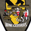 1st Squadron 227th Aviation Regiment 1st Cavalry Division Delta Company Patch   Center Detail