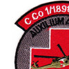 1st Squadron 189th GSAB Charlie Company Medical Evacuation Patch | Upper Left Quadrant