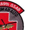 1st Squadron 189th GSAB Charlie Company Medical Evacuation Patch | Upper Right Quadrant
