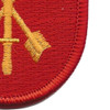 7th Special Forces Group Project White Star Flash Patch   Lower Right Quadrant