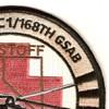 1st Squadron 168th General Support Aviation Battalion C Company Patch | Upper Right Quadrant