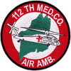 1st Squadron 112th Aviation Medical Company Air Ambulance Patch