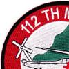 1st Squadron 112th Aviation Medical Company Air Ambulance Patch | Upper Left Quadrant