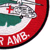 1st Squadron 112th Aviation Medical Company Air Ambulance Patch | Lower Right Quadrant