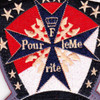1st Squadron 10th Aviation Attack Mountain Division Charlie Troop Phoenix Patch Hook And Loop | Center Detail