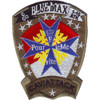 1st Squadron 10th Avaition Attack Mountain  Division Charlie Troop Military Blue Max Cav-Attack Patch Hook And Loop