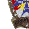 1st Squadron 10th Avaition Attack Mountain  Division Charlie Troop Military Blue Max Cav-Attack Patch Hook And Loop | Lower Left Quadrant
