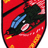 1st Squadron 10th Air Cavalry Aviation Attack Regiment Delta Troop Patch | Center Detail