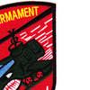 1st Squadron 10th Air Cavalry Aviation Attack Regiment Delta Troop Patch | Upper Right Quadrant