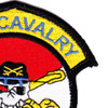 1st Squadron 105th Aviation Cavalry Regiment Color Patch Hook And Loop | Upper Right Quadrant