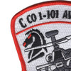 1st Squadron 101st Aviation Division C Company Patch | Upper Left Quadrant
