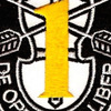 1st Special Forces Group Yellow Patch | Center Detail