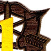 1st Special Forces Group Crest OD Yellow Patch | Upper Right Quadrant