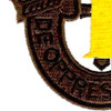 1st Special Forces Group Crest OD Yellow Patch | Lower Left Quadrant