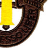 1st Special Forces Group Crest OD Yellow Patch | Lower Right Quadrant