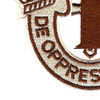 1st Special Forces Group Crest Desert Brown 1 Patch | Lower Left Quadrant