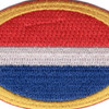 1st Special Forces Group Airborne Para Oval Patch | Center Detail