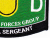 1st Special Forces Group 18D Military Occupational Specialty MOS Patch Medical Sergeant | Lower Right Quadrant