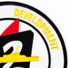 2nd COMDESDEVGRU Destroyer Development Group Patch - Version B | Upper Right Quadrant