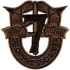 7th Special Forces Group Crest OD Green Patch