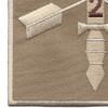 2nd Battalion 5th Special Forces Group Combat Helmet Desert Patch   Lower Left Quadrant