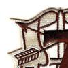 7th Special Forces Group Crest Desert Brown 7 Patch | Upper Left Quadrant